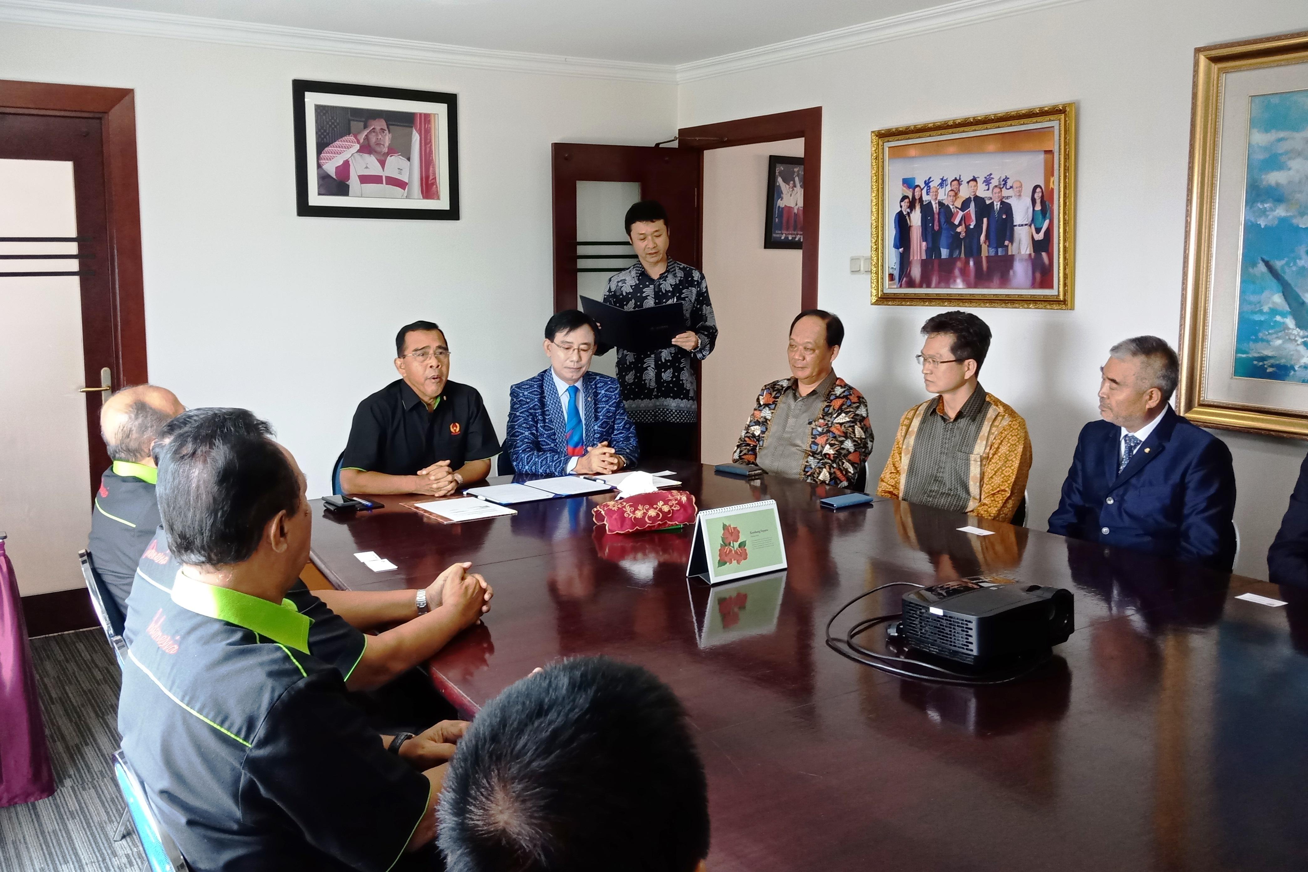 한국과 인도네시아 체육회 간담회