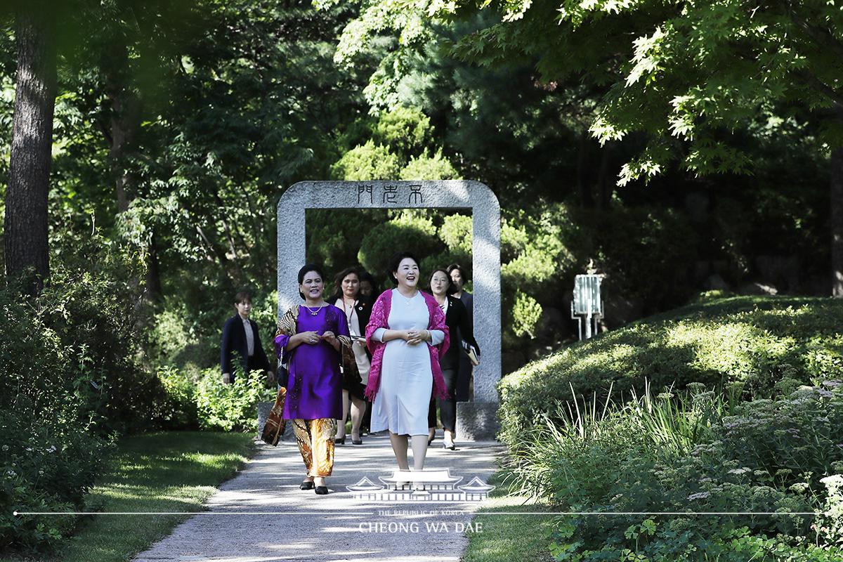 '이리아나' 인도네시아 대통령 부인 환담 및 친교행사