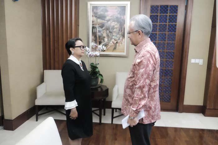 Masafumi Ishii 일본 대사와 인니외무장관