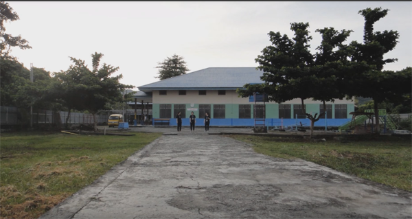 나비레글로벌소망학교 전경