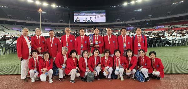재인도네시아 대한체육회 회장단과 제100회 전국체육대회 인도네시아동포선수단 임원