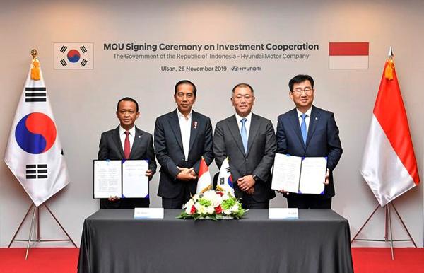 현대차 인도네시아 공장 투자 계약 체결