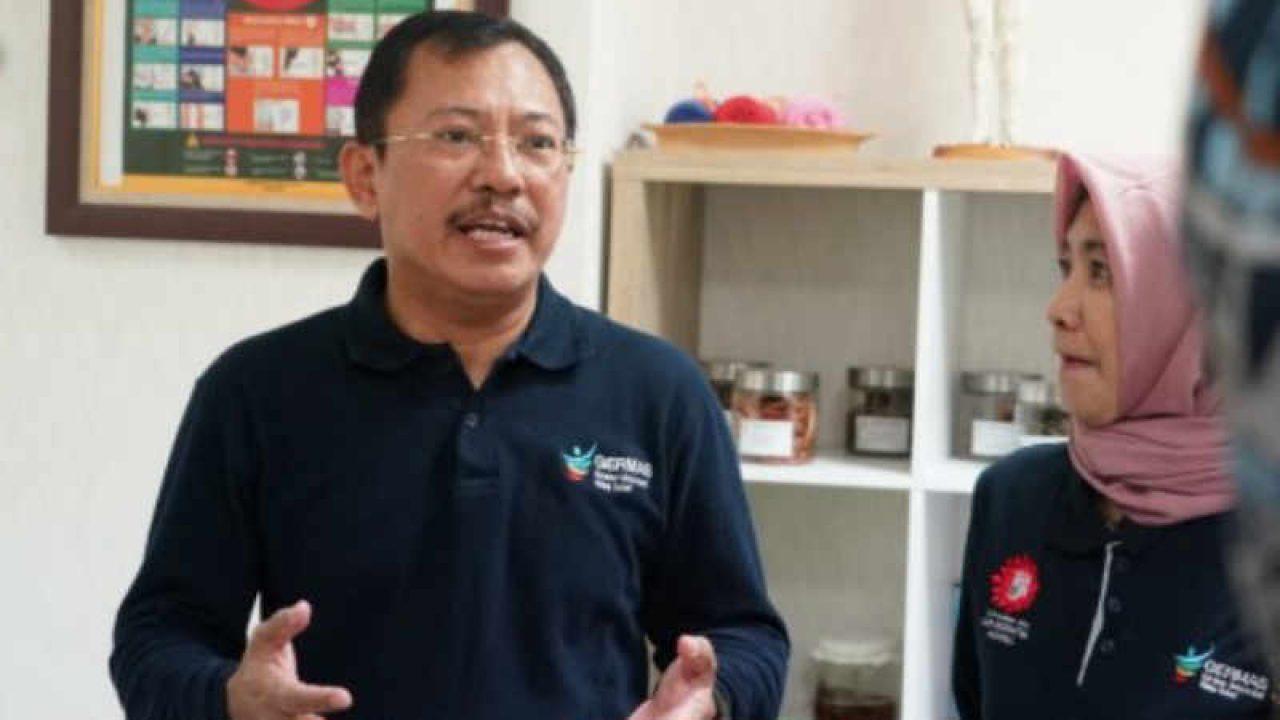 뜨라완 아구스 뿌란또 보건부 장관/Menteri Kesehatan (Menkes) Terawan Agus Putranto