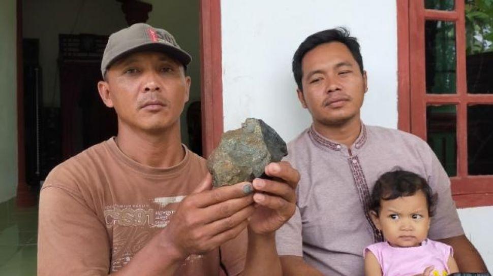 1월 28일 람풍에 사는 얀또주민이 발견한 운석